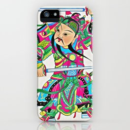 Japanese Samurai Warrior Art (21) iPhone Case