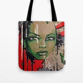 Street Girl Tote Bag