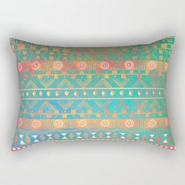 Inspired Aztec Pattern 2 Rectangular Pillow