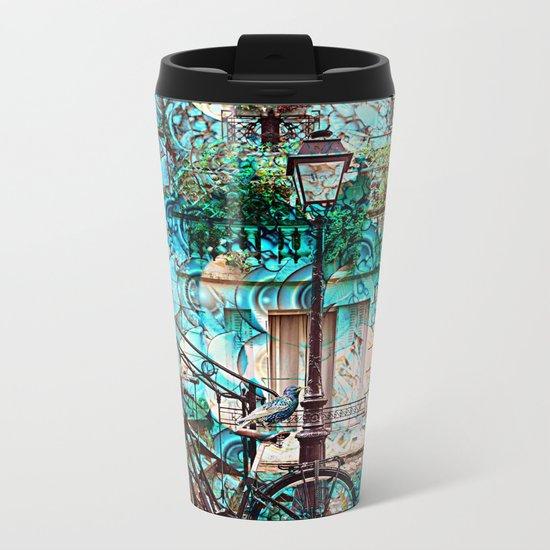 Amsterdam City Trip Metal Travel Mug