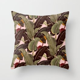 martinique pattern Throw Pillow