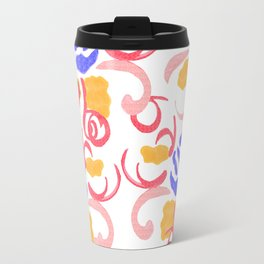 zakiaz blue roses Travel Mug