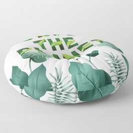 Save the Planet Floor Pillow