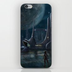 Night Outpost iPhone & iPod Skin