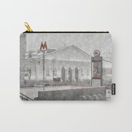 Lenin's Library. Moscow Carry-All Pouch
