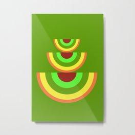 shapes -c- Metal Print