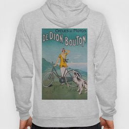 De Dion-Bouton, advertisement vintage poster Hoody