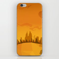 Autumn in a city iPhone & iPod Skin
