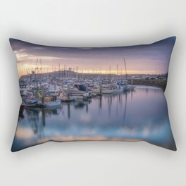 Nature's Hues Sunset at Half Moon Bay Rectangular Pillow