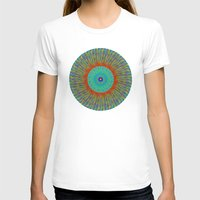 kaleidoscope T-shirts featuring Kaleidoscope  by BrucestanfieldartistPatterns