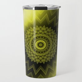 Solar Plexus Yellow Chakra Travel Mug