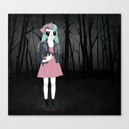 Corpse Paint Canvas Print