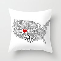 colorado Throw Pillows featuring Colorado by Taylor Steiner
