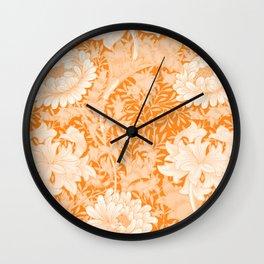 """William Morris """"Chrysanthemum"""" 3. Wall Clock"""