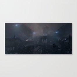 Underwater station Canvas Print