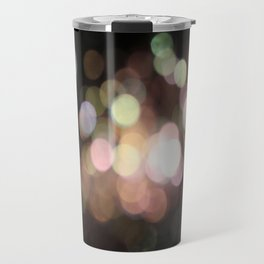 Bubbly Bokeh Travel Mug