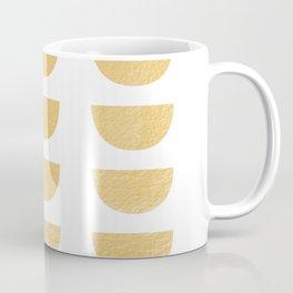 Lena Gold Half Moon Abstract Coffee Mug