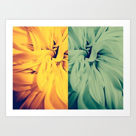 flower rewolf Art Print