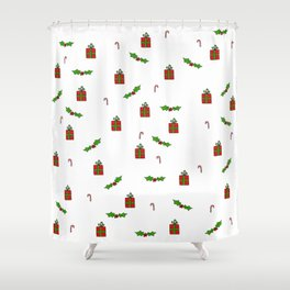 Cute Christmas Art Shower Curtain