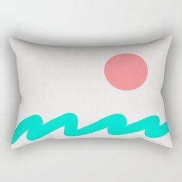 Abstract Landscape 08 Rectangular Pillow