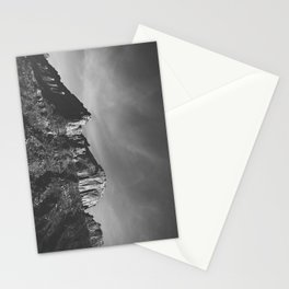 Utah Ridge-B&W Stationery Cards