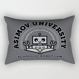 I Majored in Robot Law Rectangular Pillow