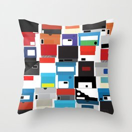 The Shoe Box Throw Pillow