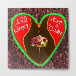 All Women Have a Garden 2 Metal Print