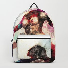 """""""She was part Day and part Night"""" by Nacho Dung Backpack"""