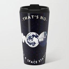 That's no moon. It's a space station v2 Travel Mug