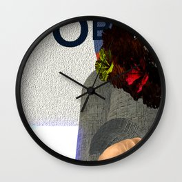 Fly: O is for Care less Wall Clock