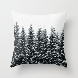 The White Bunch Throw Pillow