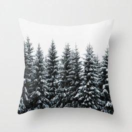 The White Bunch Throw Pillow