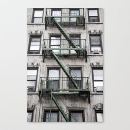 NY Green Canvas Print