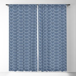 Seigaiha // Japanese Collection Blackout Curtain