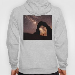 Looking up at the Sky and the Stars Hoody