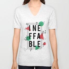 Ineffable Unisex V-Neck