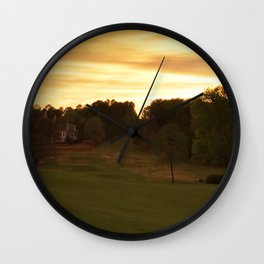House Down the Way Wall Clock
