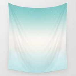 Ombre  light blue Wall Tapestry