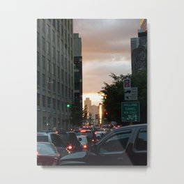 Friday Night Getaway Metal Print