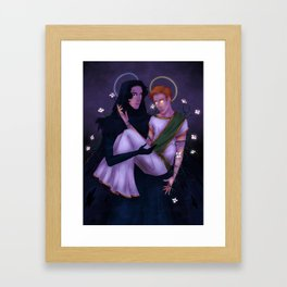 What is Light Without Darkness? Framed Art Print