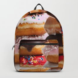 LOVE MY CHOCOLATE  DONUTS & COOKIES Backpack