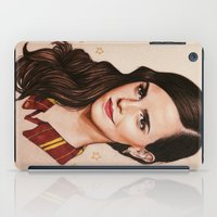 gryffindor iPad Cases featuring Queen of Gryffindor by The Art Of Dreams