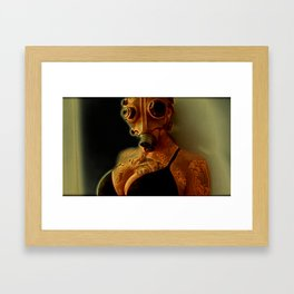 Breathe Deeply Framed Art Print