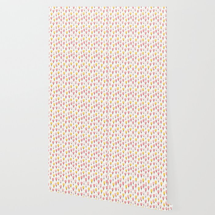Autumn Yellow and Pink Roses Wallpaper