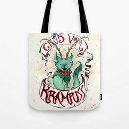 Gruss Vom Krampuss Tote Bag