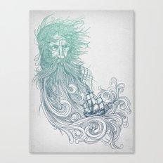 Seabeard Canvas Print