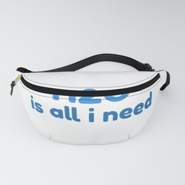 Pool and Water print I Swimming Pool Gift Fanny Pack
