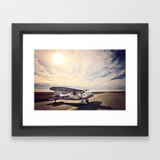 Waiting on Sunset Framed Art Print