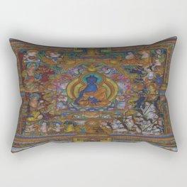 The Medicine Buddha Rectangular Pillow